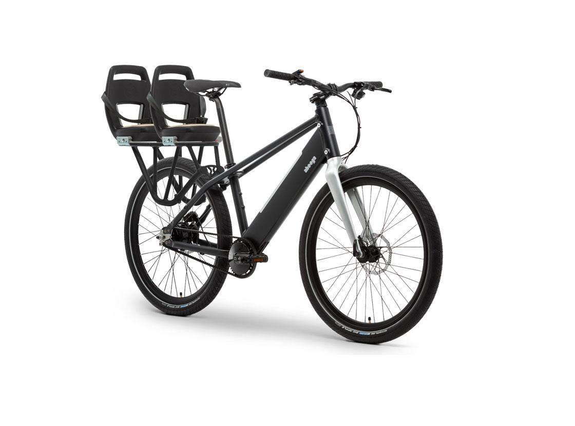 Vélo cargo électrique ahooga modular - GaasWatt Marseille