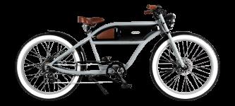 Vélo électrique Michael Blast Greaser gris et noir - GaasWatt Marseille
